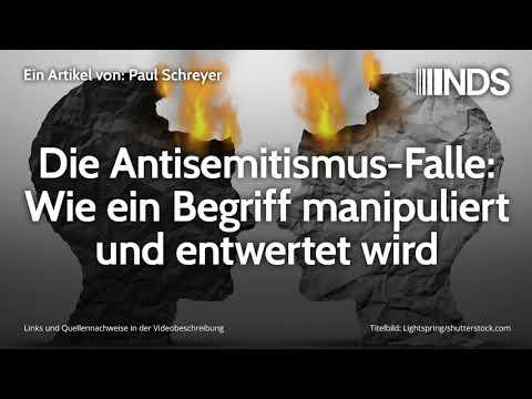 Die Antisemitismus-Falle: Wie ein Begriff manipuliert und entwertet wird | Paul Schreyer