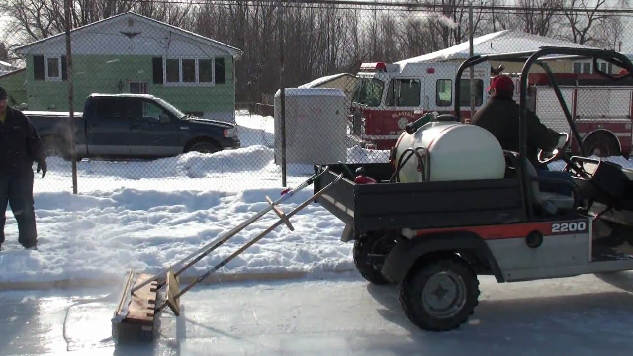 Home Made Zamboni.mov - YouTube