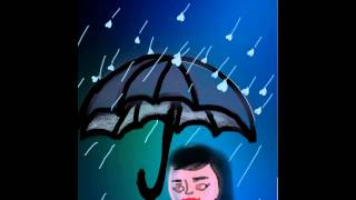 draw a rainy day #picsart