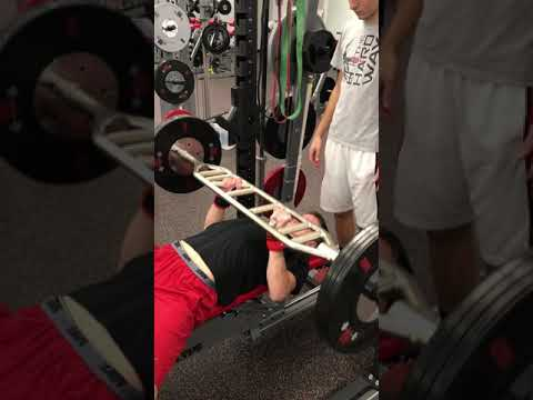 Swiss Bar Bench Press #2 Grip