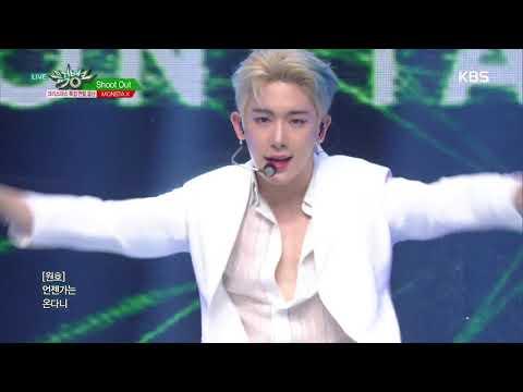 뮤직뱅크 Music Bank - Shoot Out - MONSTA X.20181221
