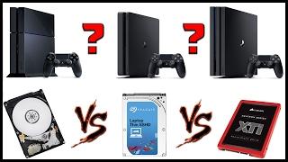 вЫБОР И ЗАМЕНА ЖЕСТКОГО ДИСКА PS4  HDD 5400 vs 7200 vs SSHD vs SSD  PS4  PS4 Slim  PS4 Pro