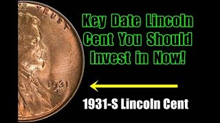 1931-S Lincoln Cents Are INCREDIBLE SLEEPER Investment Coins - Time to Buy?
