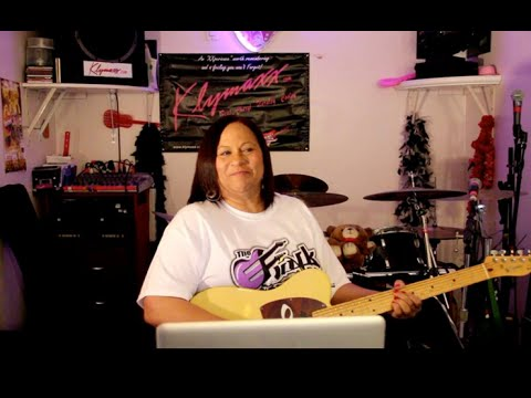 Cheryl Cooley of the Funk group ''Klymaxx'' interview w/TheFunkCenter.