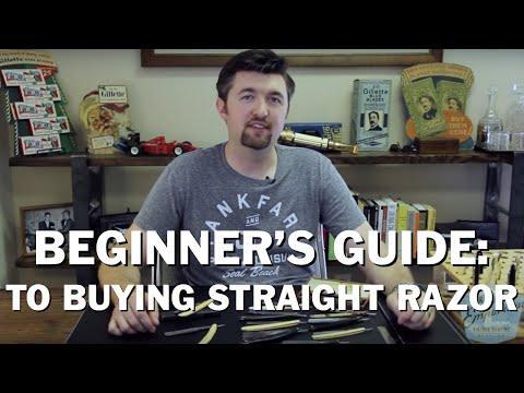 Beginner Buyer's Guide to Straight Razors