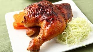 (楊桃美食網) 蜜汁烤雞腿