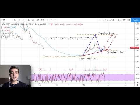 Seanergy Maritime Stock Analyse, Castor Maritime stock forecast, SHIP Stock & CTRM Stock Comparison
