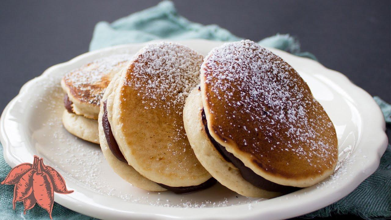Vegan Dorayaki どら焼き Japanese Pancakes