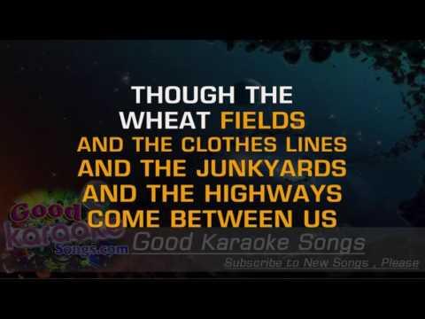 Gentle On My Mind -  Glen Campbell (Lyrics Karaoke) [ goodkaraokesongs.com ]