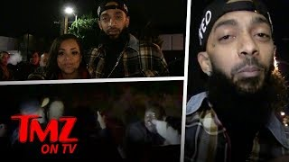 Huge Brawl Breaks Out Involving Rapper Nipsey Hussle | TMZ TV
