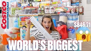 MASSIVE COSTCO BACK TO SCHOOL HAUL AT THE BIGGEST COSTCO IN THE WORLD | WORLD'S BIGGEST COSTCO HAUL