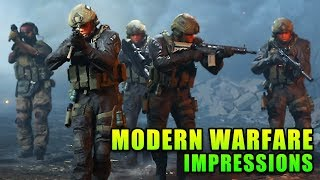 Battlefield Player's First Impressions Of Call Of Duty Modern Warfare