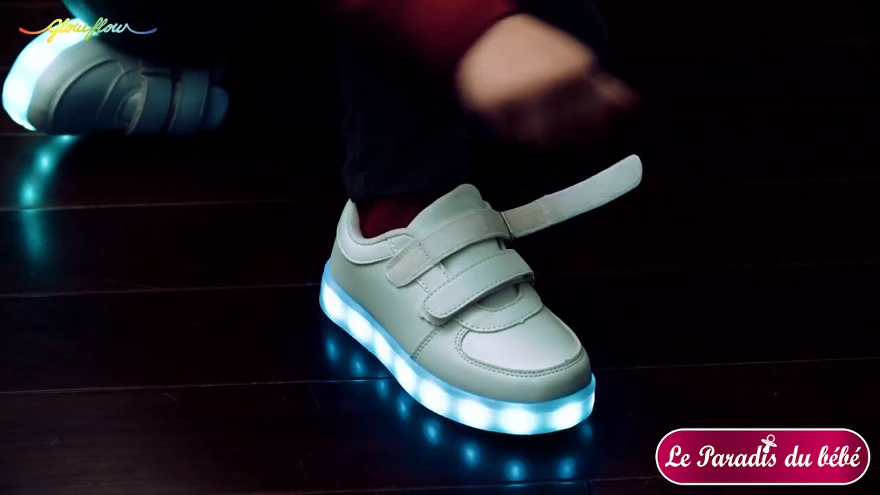 design de qualité 10fa4 9a0bc Chaussures led pour enfants