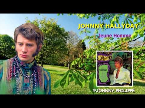 johnny hallyday  jeune homme