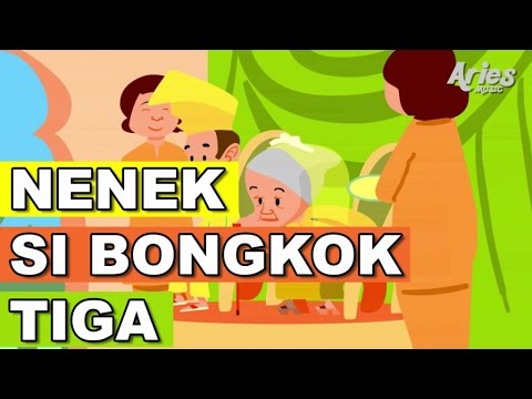 Alif & Mimi - Nenek Nenek Si Bongkok Tiga (Animasi 2D) Lagu Kanak Kanak