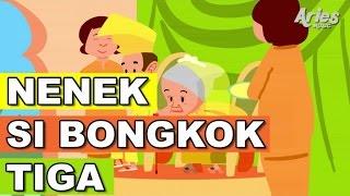 lagu kanak kanak alif mimi nenek nenek si bongkok tiga animasi 2d