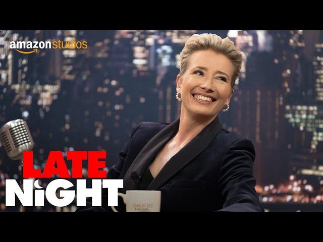 Late Night - Official Trailer   Amazon Studios