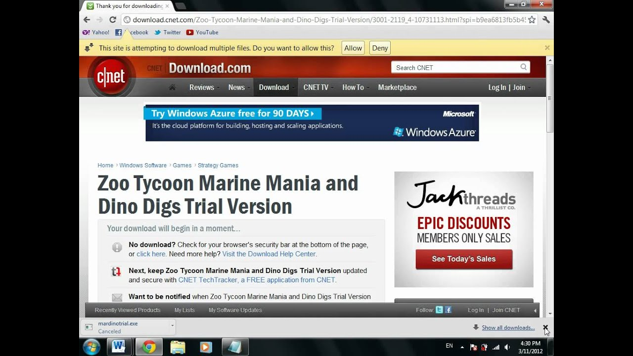 Zoo tycoon full version no time limit download.