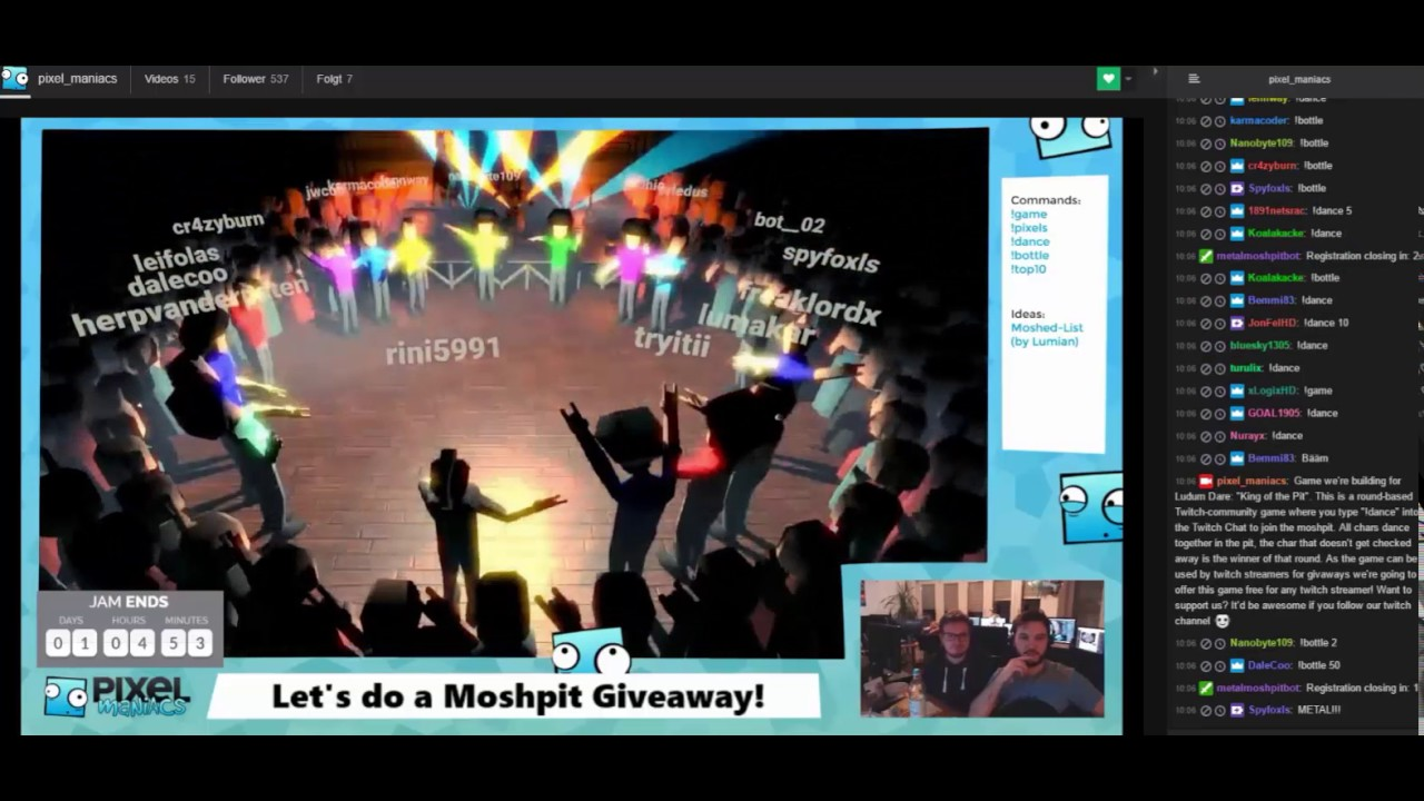 Sub giveaways on twitch how to make it say