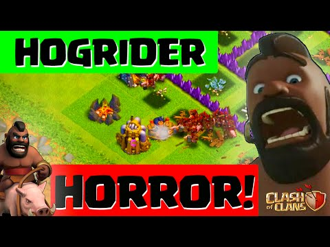 Clash of Clans ♦ WARNING ♦ Hogrider Horror Ahead! ♦ Chief Challenge #5 ♦ CoC ♦