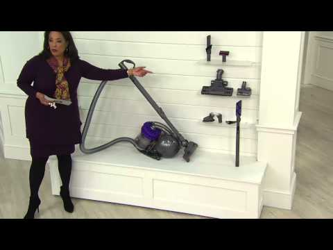 Dyson Cinetic Big Ball Animal Canister Vacuum w/ Attachments with Leah Williams