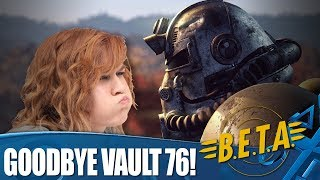 Fallout 76 - It's time to leave the vault!