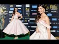 Kriti Sanon In Pink Cinderella Gown At IIFA Rocks 2017 Green Carpet