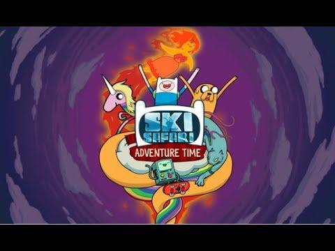 Ski Safari: Adventure Time (Android)