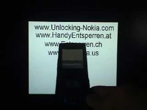 Nokia 6650 FOLD UNLOCK www.SIMLOCK.cc ENTSPERREN SIMLOCK FREISCHALTEN UNLOCK