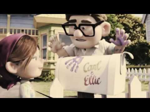 """""""I will never get used to you...""""  (Carl & Ellie)"""