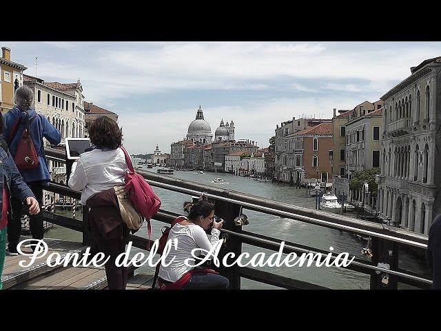 VENICE: Accademia Bridge & Basilica di Santa Maria della Salute [HD]