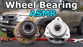 How to Replace a Front or Rear Wheel Bearing (Full ASMR)