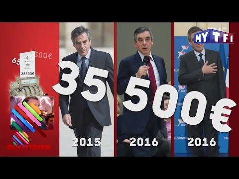 Les costumes de Fillon et Macron taillés par Quotidien - Quotidien 13 Mars