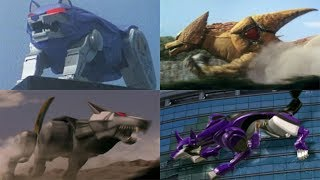 Power Rangers summon the Wolf Zords  Mighty Morphin - RPM  Neo-Saban  Power Rangers Official