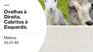 Parábola das ovelhas e cabritos