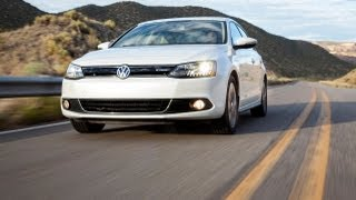 2013 Volkswagen Jetta Hybrid 0-60 MPH First Drive Review