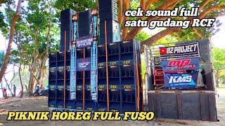 Download Terbaru, Cek Sound RCF Audio Full Satu Gudang Di Bawa Piknik Pantai Nganteb