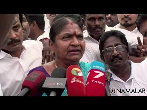 Former Minister Valarmathi against Sasikala Camp?Valarmathi joining OPS Camp?