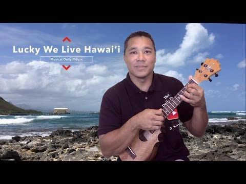 The (Musical) Daily Pidgin - Lucky We Live Hawai'i #7