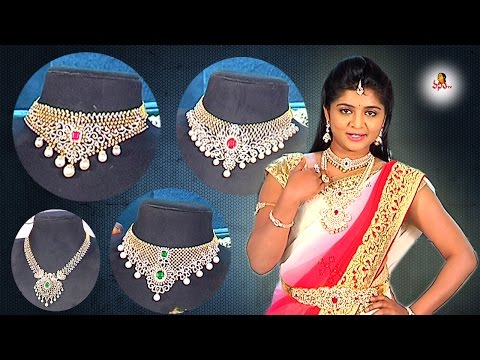 Latest Trendy Fashion Jewelry on Pinterest || Andham Abharanam || Vanitha TV