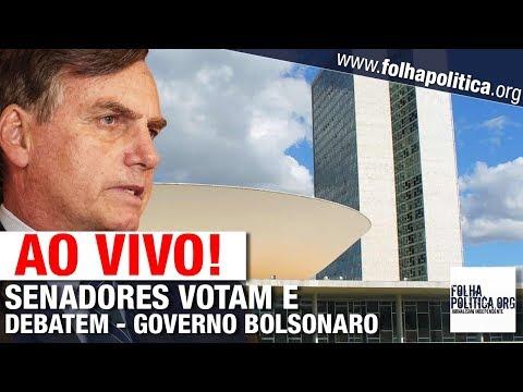 AO VIVO: SENADORES DEBATEM PARA VOTAÇÃO DA REFORMA DA PREVIDÊNCIA DE BOLSONARO / GUEDES