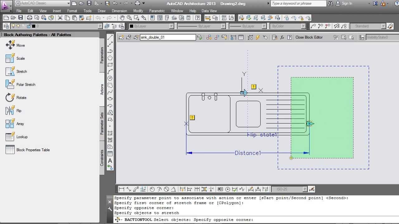 AutoCAD: Dynamic Blocks Tutorial