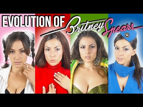 Evolution of Britney Spears (Impressions)
