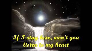 I Don't Wanna Talk About It by Rod Stewart ~ Lyrics On Screen ~