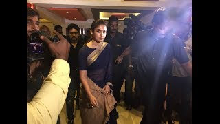 Nayanthara Visits Kasi Theatre For Aramm Promotion