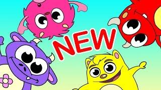 🔴 Ring Around the Rosie! Kids Fun Dance! Butterflies Bugs Monsters & Flowers by Little Angel