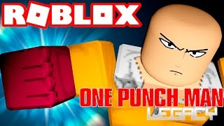 Roblox → AWESOME POWERS!! -One Punch Man Legacy [Pre Alpha] #2 🎮