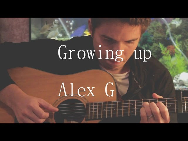 Growing up  - Alex G - Fingerstyle Guitar Cover with Tabs