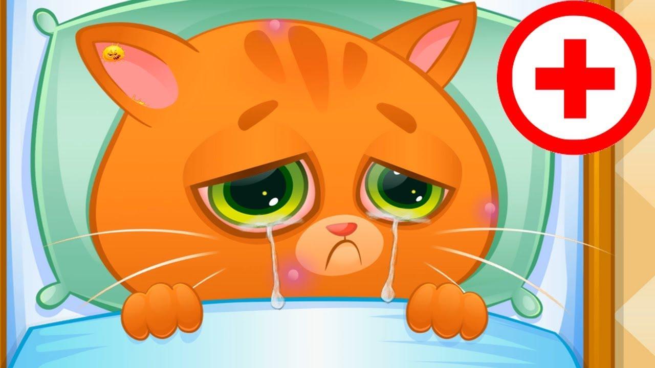 Fun Pet Animal Care Fun Mini Kids Game - Bubbu - My Virtual Pet - Play Fun Cute Kitten Game