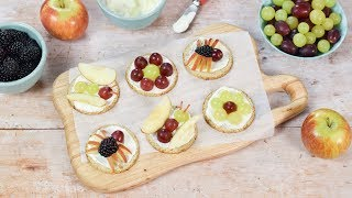 Fun Snack for Kids: Fruity Bug Oat Cakes (Ad)